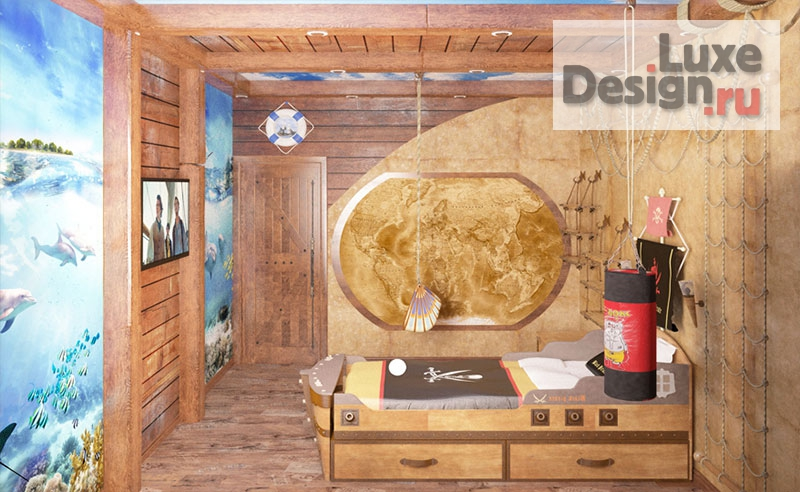 """дизайн загородного дома """"Дизайн-проект """"Замок рыцаря"""""""" (фото 14)"""