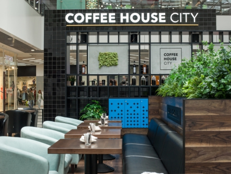 Интерьер Coffe house city